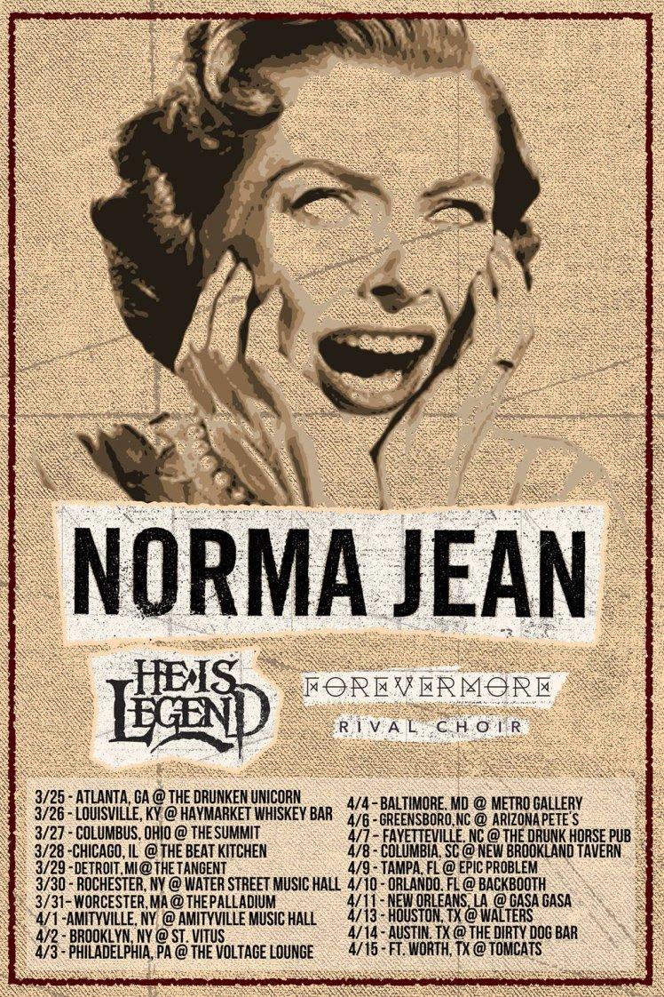 Norma Jean tour